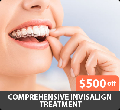 comprehensive Invisalign treatment coupon